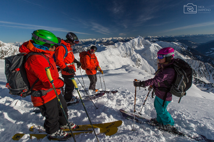 Guides Training at Stellar Heliskiing