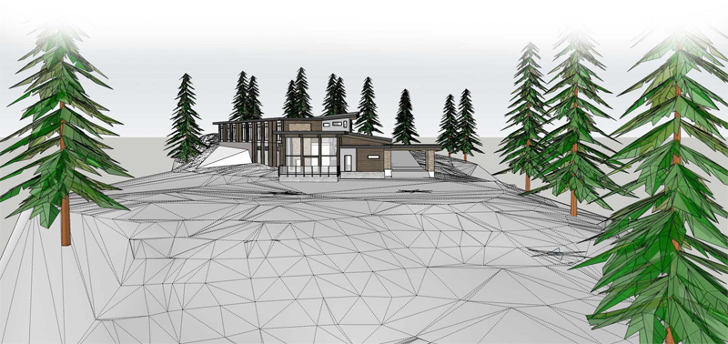 A New Lodge for Eagle Pass Heliskiing for 2017